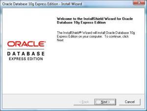 Oracle XE instalācija
